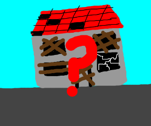 Lone abandoned building holds a secret