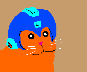megaman is a cat now?