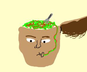 Spaghetti as brains