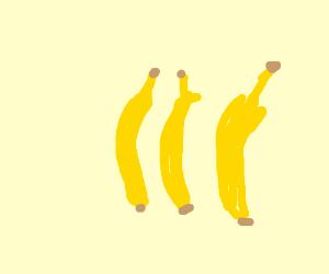 some bananas
