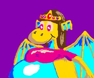 fat cute vellidragon