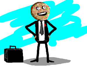 Sprinkles - The cookie business man