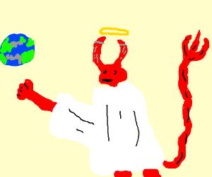 The holy devil