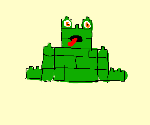 lego toad