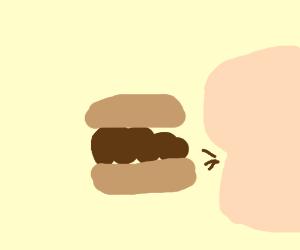 poop burger