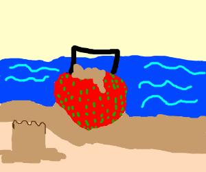 Strawberry bucket