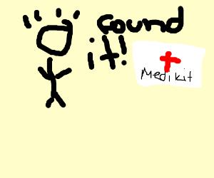 Medical Kit found