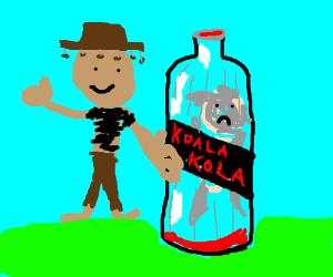 Australia's newest export: Koala Cola