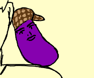 Scumbag Shoulder Eggplant