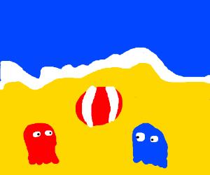 THE GHOST BEACH!!!