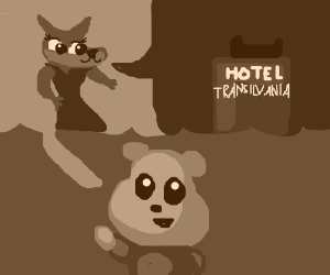 Winnie: cute werewolf girl, Hotel Transylvania