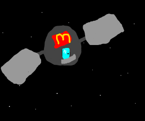 MacDonald's space station!