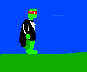 tuxedo ninja turtle