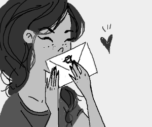 a letter sealed with love