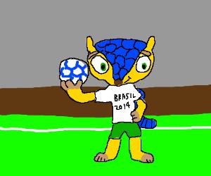2014 brazil world cup mascot