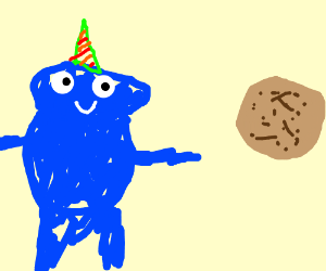 Cookie party: give me something... to feel