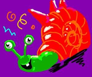 crazy weird snail