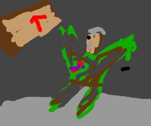 Solid Snake's death