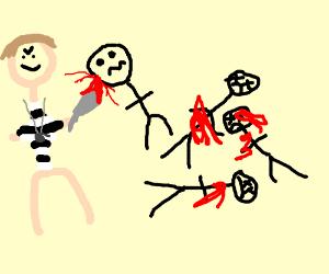referee murders 4 guys