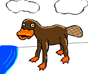 Derpy Platypus with legs