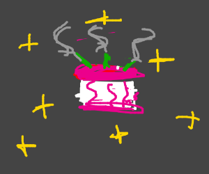 A birthday cake in the void