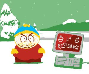 Vive la Resistance computer