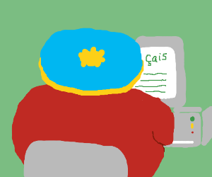 Eric Cartman takes an online French class