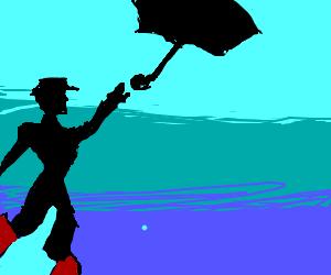Death by umbrella