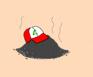 Ash Ketchum is cremated into... well... ash