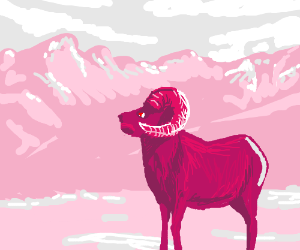 Pink ram is full of awesomeness