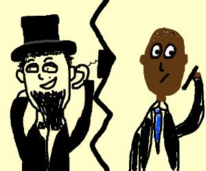 Abe prank calls Barack
