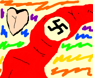 Nazis: now supporting universal love