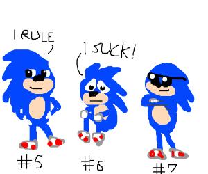 Low self asteem Sonic #6