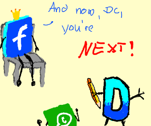 Facebook takes over Drawception