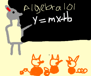 Big Bad Wolf will teach you how to do Algebra