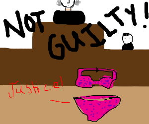 Female underwear gets justice in the court