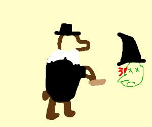 Amish bear kills a witch