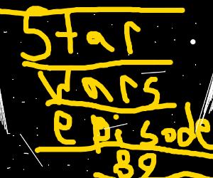 The never ending Star Wars