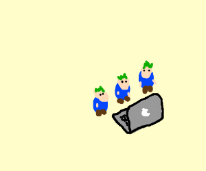 Lemmings using a Mac