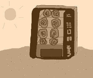 ancient vending machine