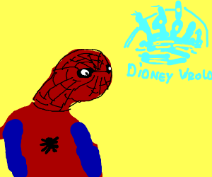 Spoderman Hez Mor Sweg Than Yu Drawception