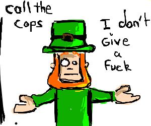 Arrest me im irish