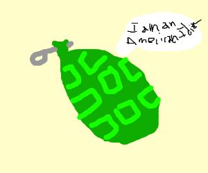 It's a friggin' Green Day Grenade