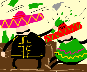 Mexican barfight