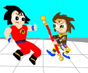 Son Goku vs Sun Wukong