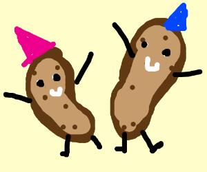 Party potatoes