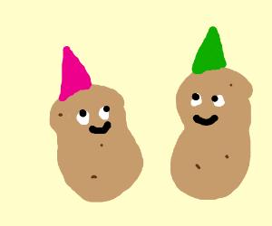Party potatoes!