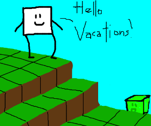 square vacations in 3rd dimension