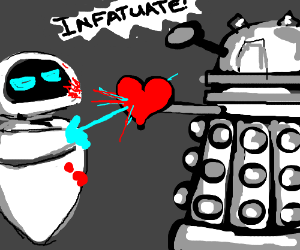 eve breaks dalek's heart
