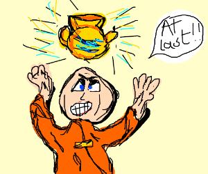 Crazy Monk Clames Golden Varse